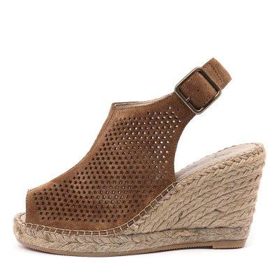 Sofia Cruz Carla 46 Sc Cuero Sandals Womens Shoes Casual Heeled Sandals
