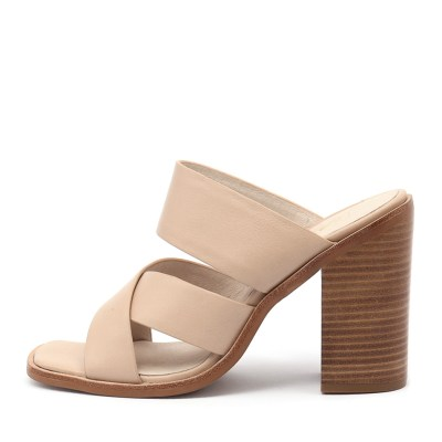 Sol Sana Blair Mule Natural Sandals