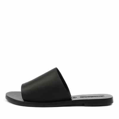 Sol Sana Teresa Slide Black Sandals