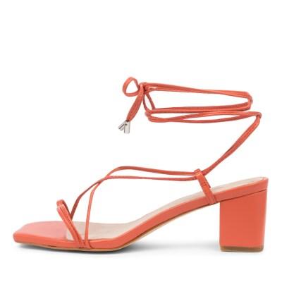 Sol Sana Sonia Heel Ss Blush Leopard Sandals