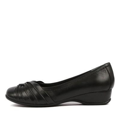 Supersoft Tallise Black Shoes