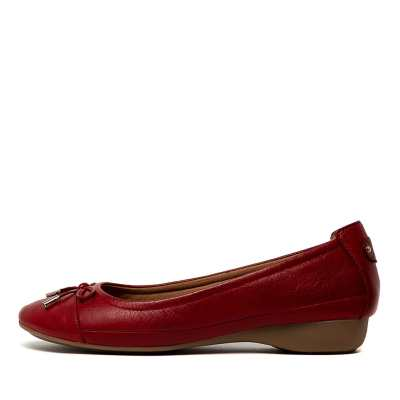 Supersoft Embark Red E Shoes Womens Shoes Casual Flat Shoes