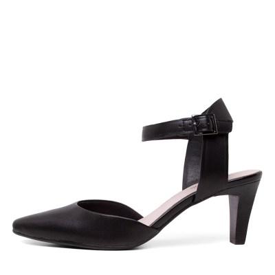 Supersoft Majesta Black Shoes