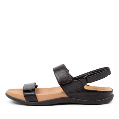 Supersoft Lovato Su Black E Sandals