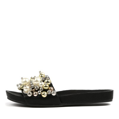 Top End Hazelle Black Sandals
