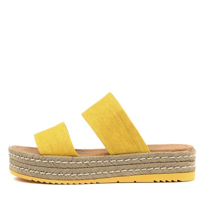 Top End Alline Yellow Sandals