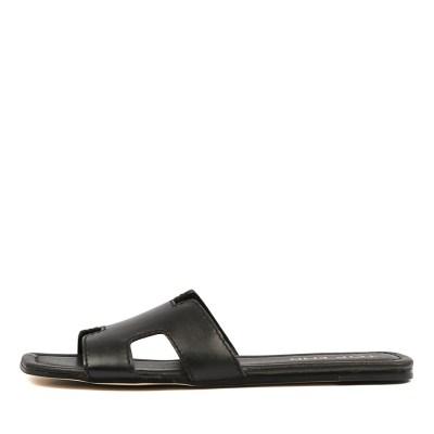 Top End Leamon Black Sandals