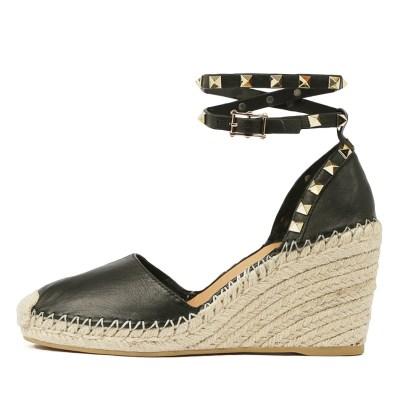 Top End Mikkel Black Shoes