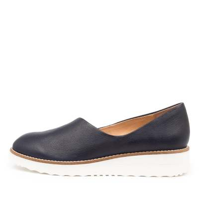 Top End Ohdear To Navy White Sole Shoes Womens Shoes Casual Flat Shoes