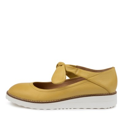 Top End Oshae To Yellow Shoes Womens Shoes Casual Flat Shoes