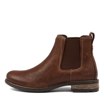 Taos Twinnie Cognac Boots