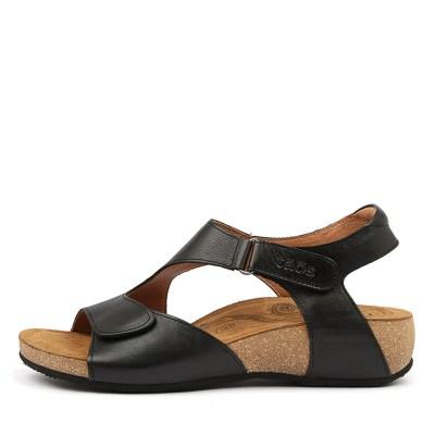 Taos Rita Ts Black Sandals