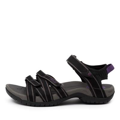 Teva Tirra Tv Black Grey Sandals