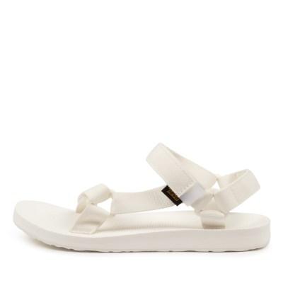 Teva W Original Universal Tv White White Sandals Womens Shoes Casual Sandals Flat Sandals