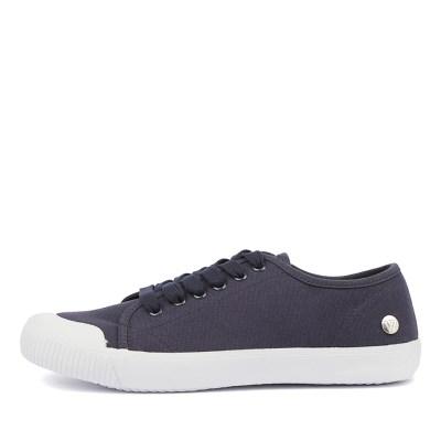 Walnut Empire Canvas Blue Shoes