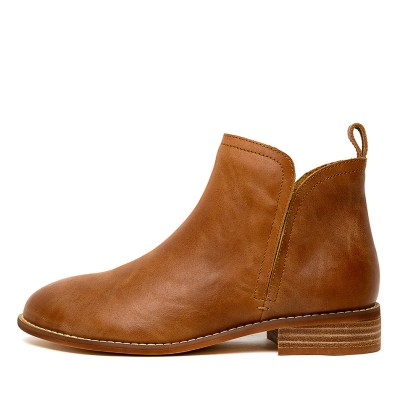 Walnut Douglas Tan Boots Womens Shoes Casual Ankle Boots