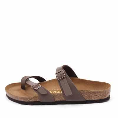 Birkenstock Mayari Mocca Sandals Womens Shoes Casual Sandals Flat Sandals