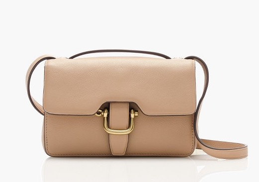 J.Crew Edit Bag Pale Stone
