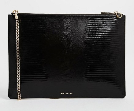 Whistles Leather Rivington Purse