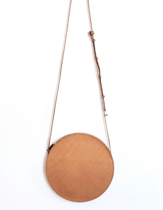 modern citizen cartagena Leather Circle Bag