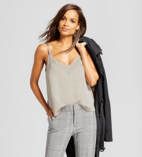 Targets A New Day Satin Cami Cream