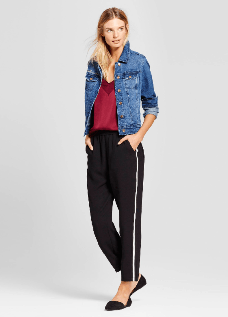Targets A New Day Straight Leg Track Pants