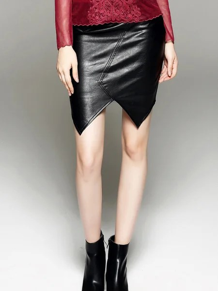 leather skirt, NYE outfit ideas