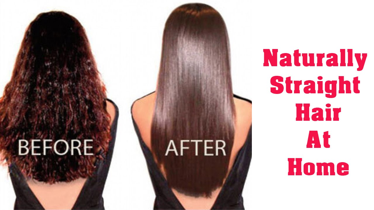How To Straighten Curly Hair Without Heat Style Wile
