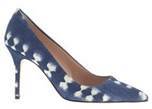 SPRING HSOES J CREW FABRIC PUMP, $258