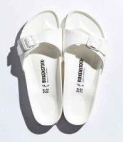 white birkenstocks
