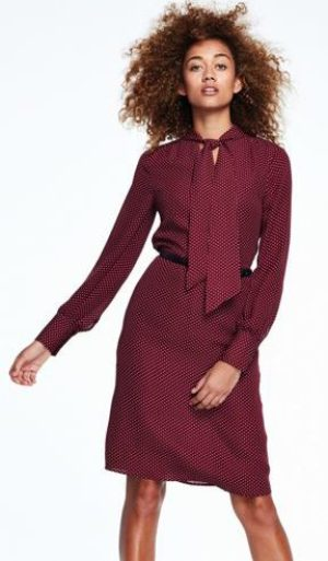 Fashionable work looks Canvas by-lands-end-bow-tie-dress-119