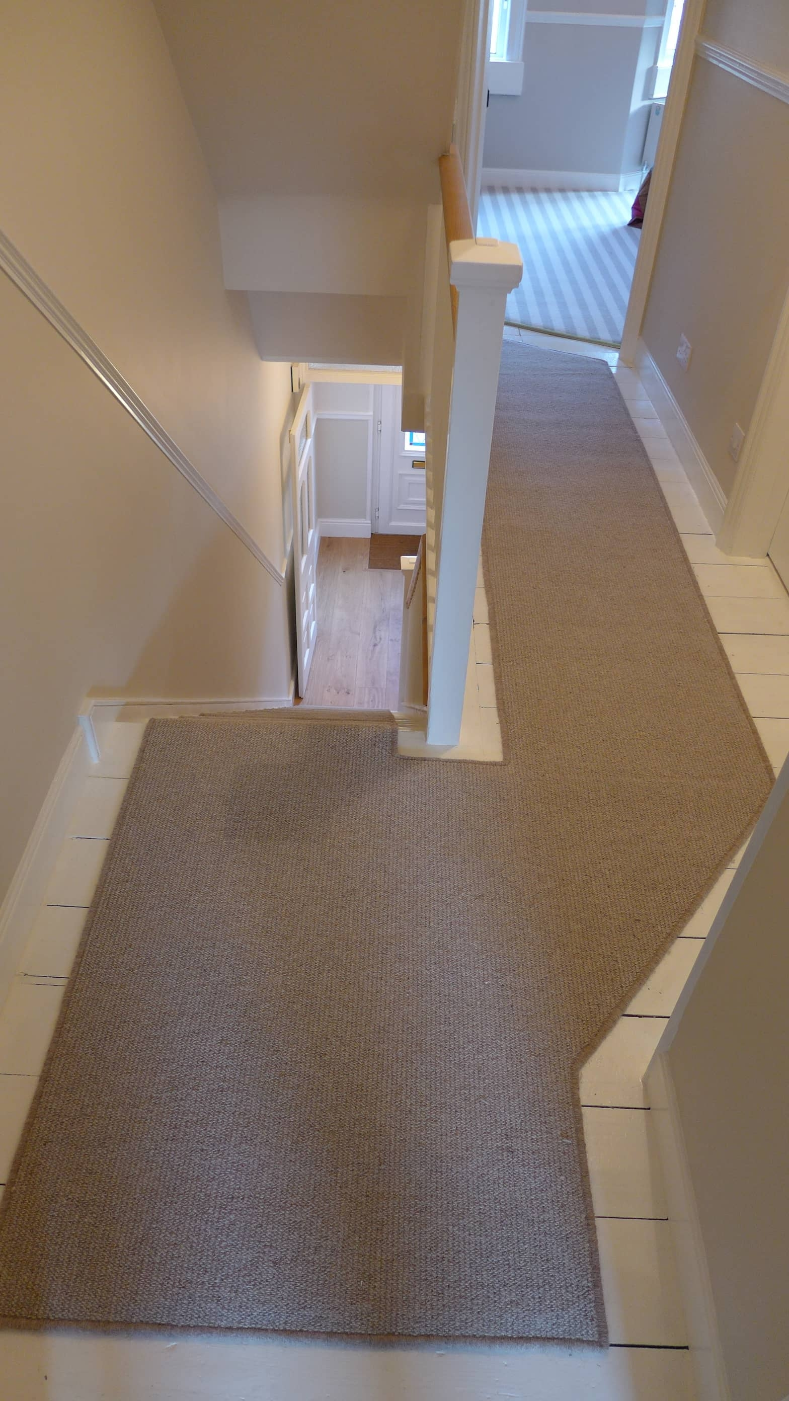 Halls Stairs And Landings Style Within | Best Carpet For Stairs And Landing