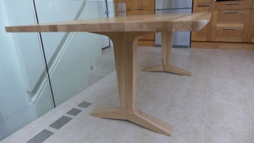 Solid Oak Dining Table   Style Within stylish oak dining table