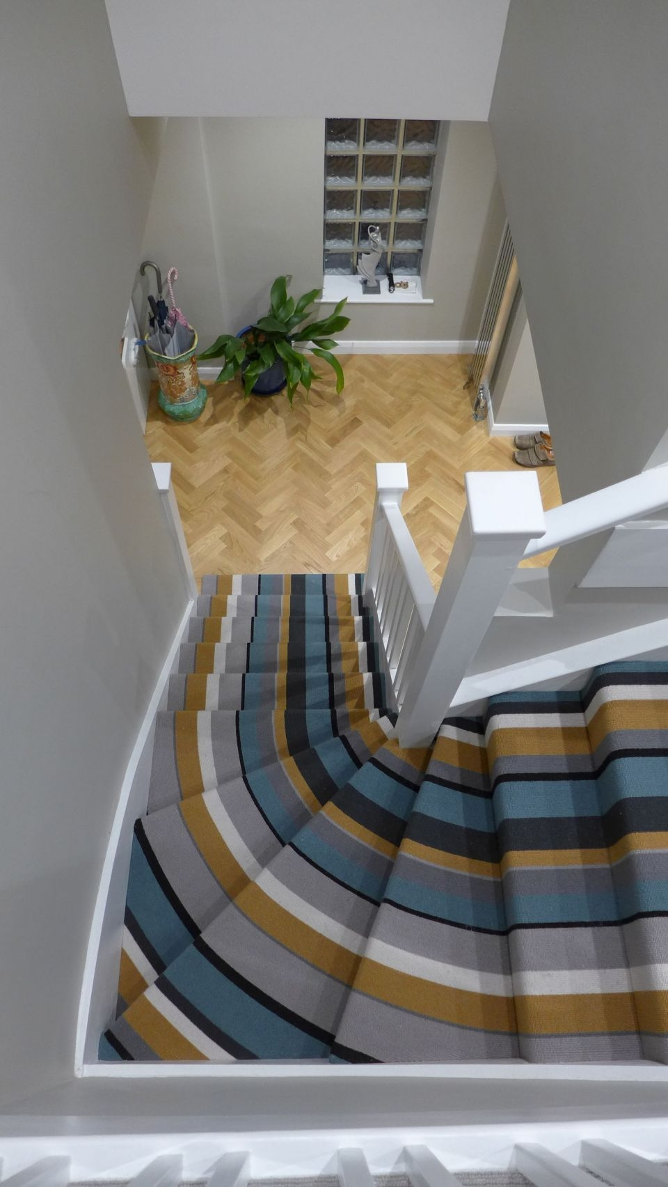 Halls Stairs And Landings Style Within | Grey Carpet Stairs And Landing | Teal | Open Plan | Pinterest | Commercial | Wall