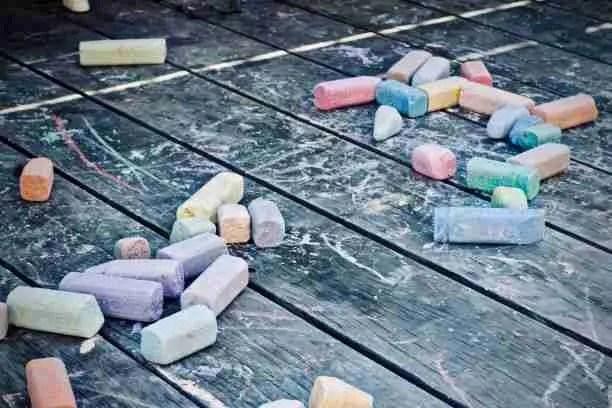 outdoor chalk