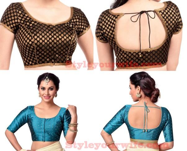 Simple blouse designs photos