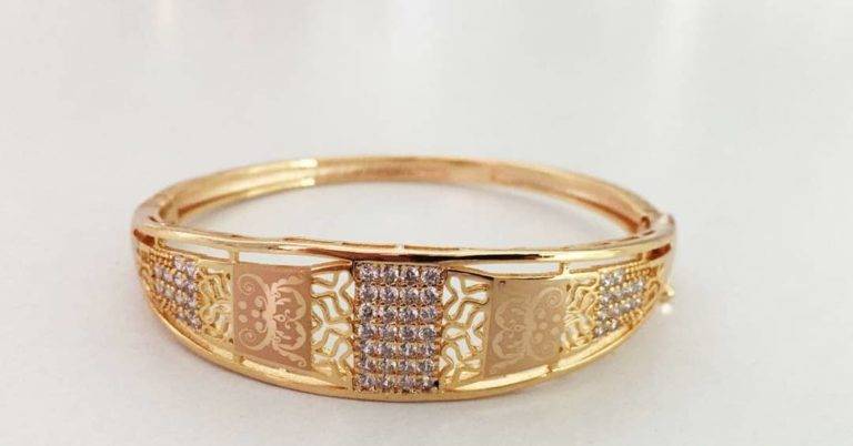 gold plated ring design