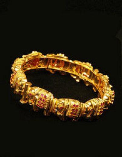 Kerala Gold Bangle Design