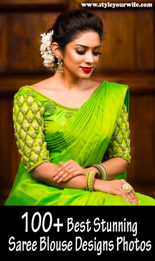 Stunning Saree Blouse Designs