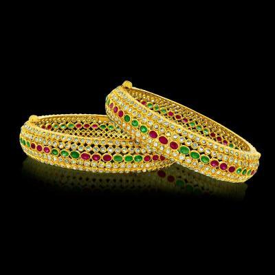 Uncut Diamond Bangle designs