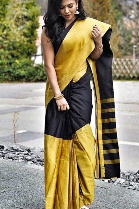 Gorgeous Silk Saree designs for women (2)