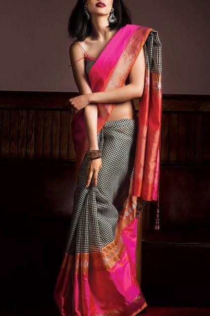 Gorgeous Silk Saree designs for women (3)