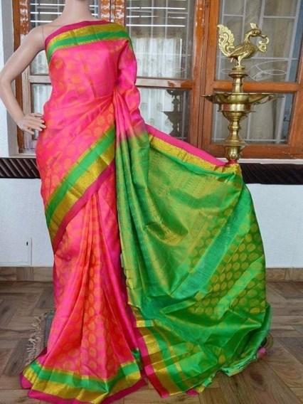 Gorgeous Silk Saree designs for women (6)
