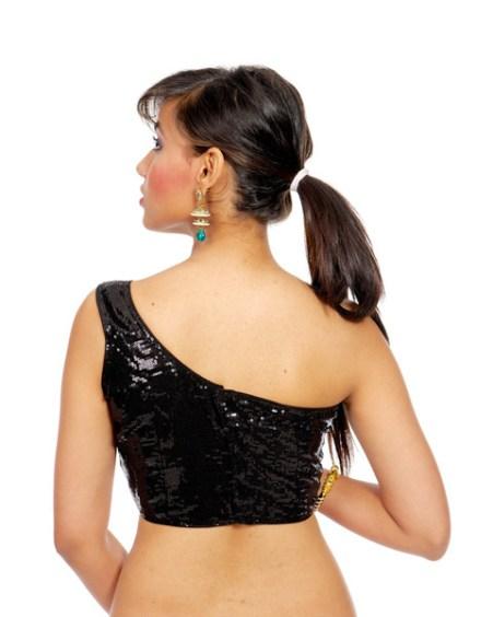 One shoulder back neck