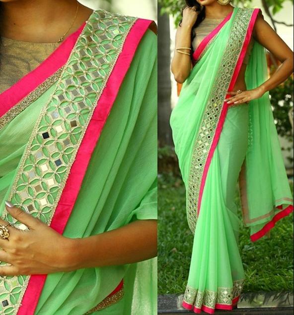 Top 10 Gorgeous Silk Saree designs for Women