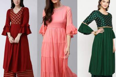 The Flared Sleeves Design
