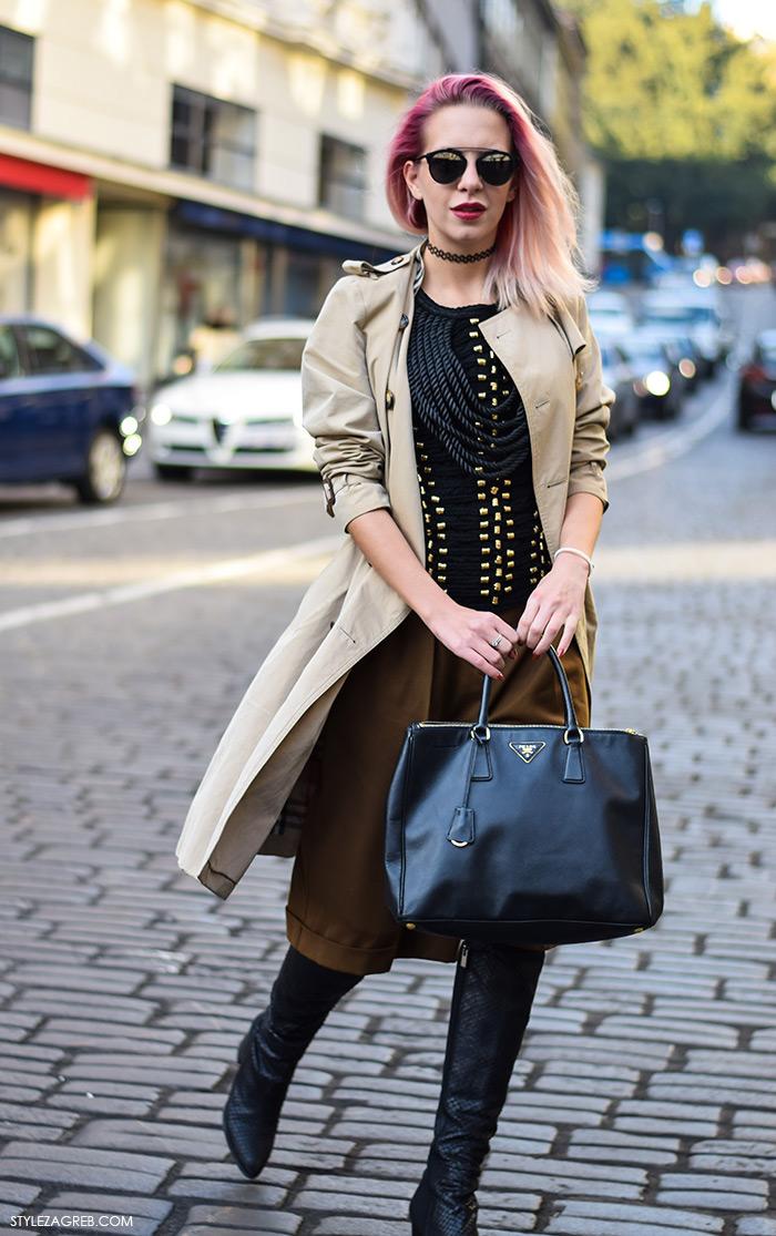 H&M Balmain na street style način, Nika Audrey White, Lager, Zagreb street style moda