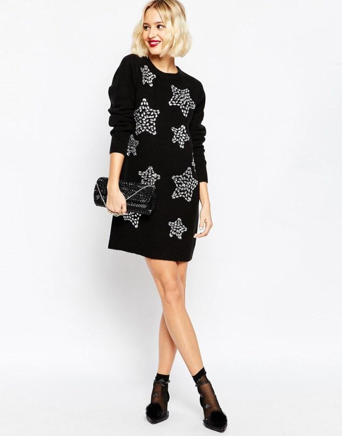 Moda: kako kombinirati pletenu mini haljinu