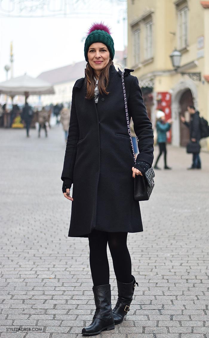street style Zagreb zimska moda, kaputi bunde, Stylezagreb.com, Anita Mišić