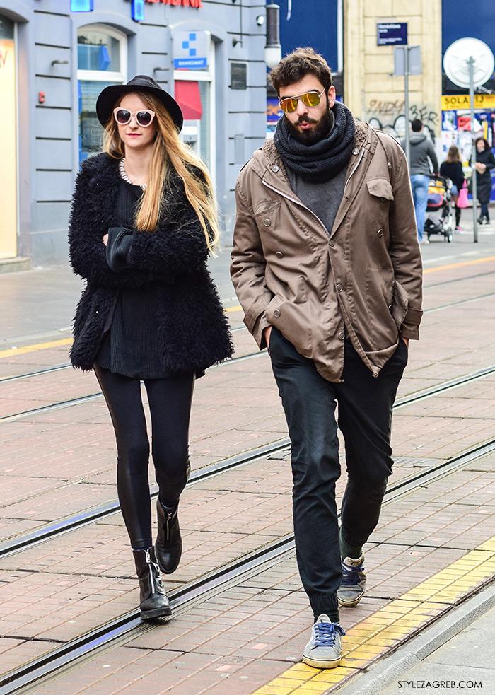 Angela Bacic, Toni Tkalec, koje cool muške sunčane naočale, zagreb street style moda, zgodan par na špici
